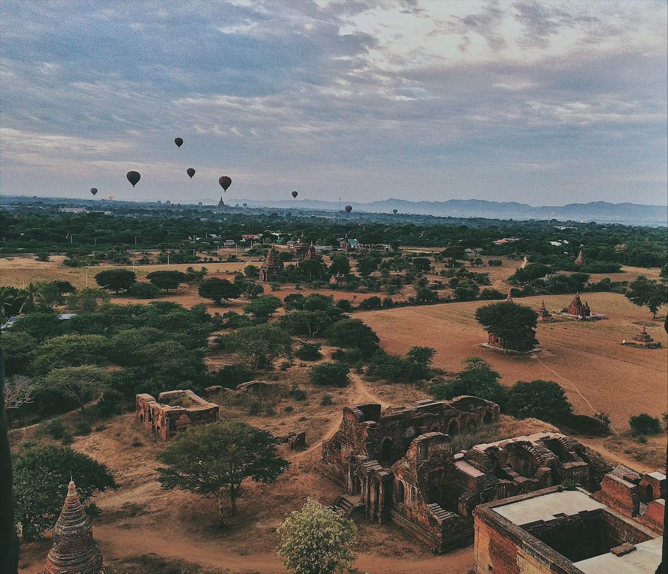 Hot Air Balloon Bagan Myanmar