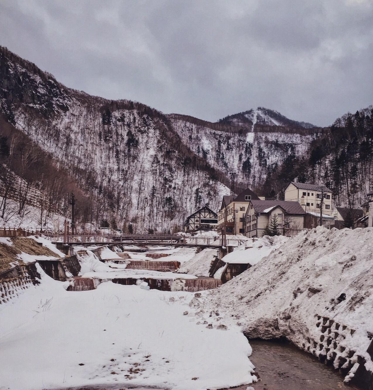 Sounkyo Onsen Hokkaido