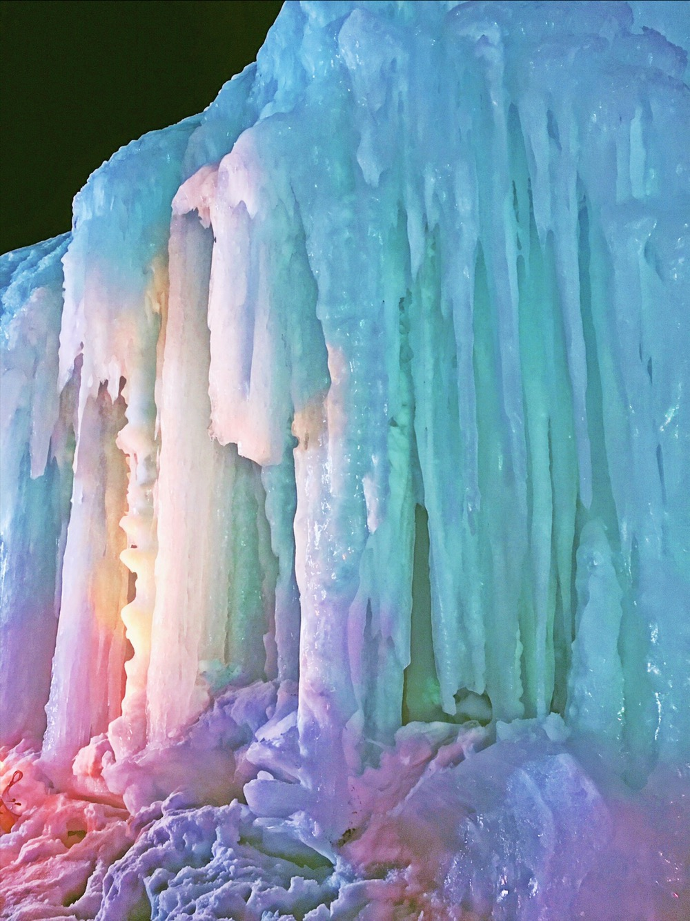 Sounkyo Hot Springs Ice Festival