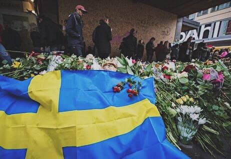 Memorial Drottninggatan Stockholm Terrorist Attack