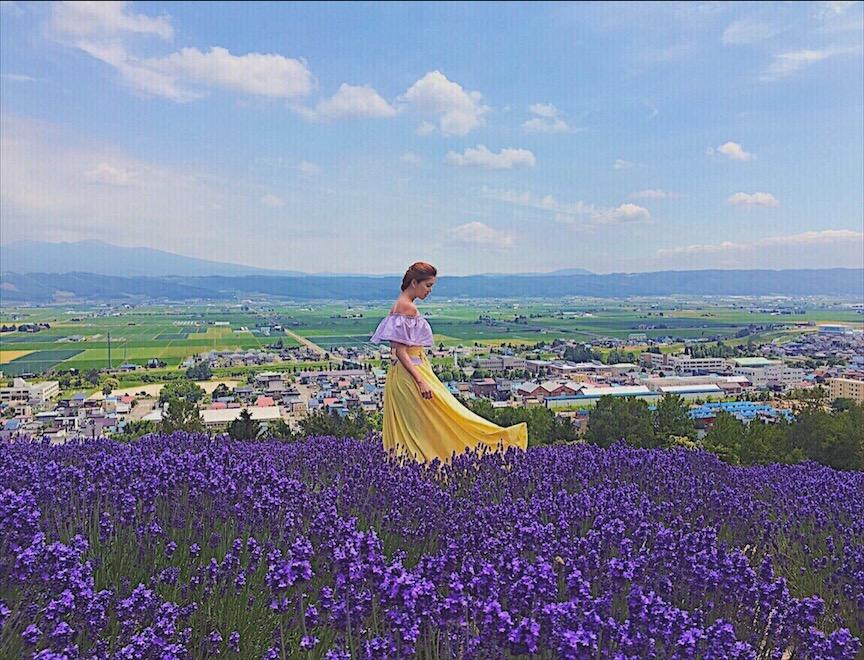 Choei Lavender Farma Bianca Valerio