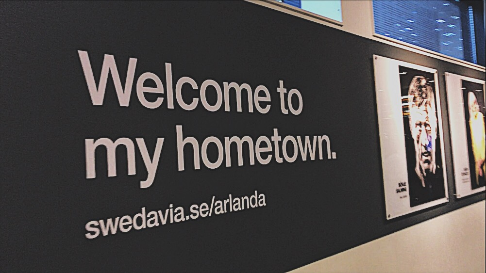 Arlanda Sweden Airport Welcome To My Hometown