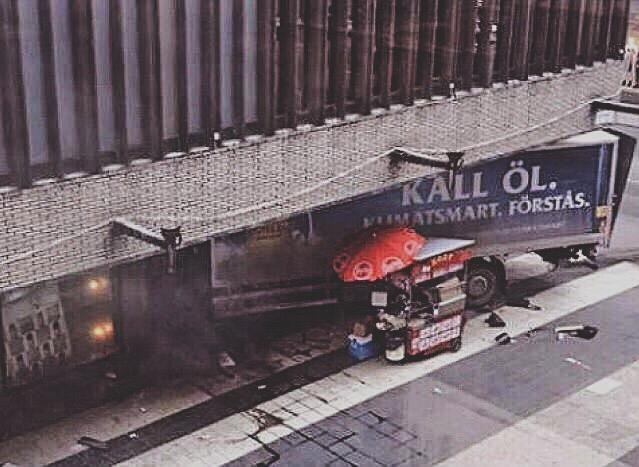 Truck Stockholm Terrorist Attack
