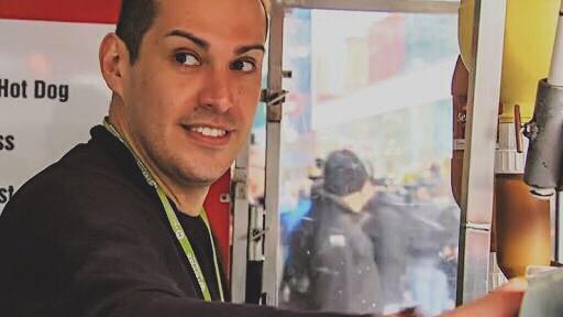 Hotdog vendor Gilberto Rodriguez Stockholm Terrorist Attack