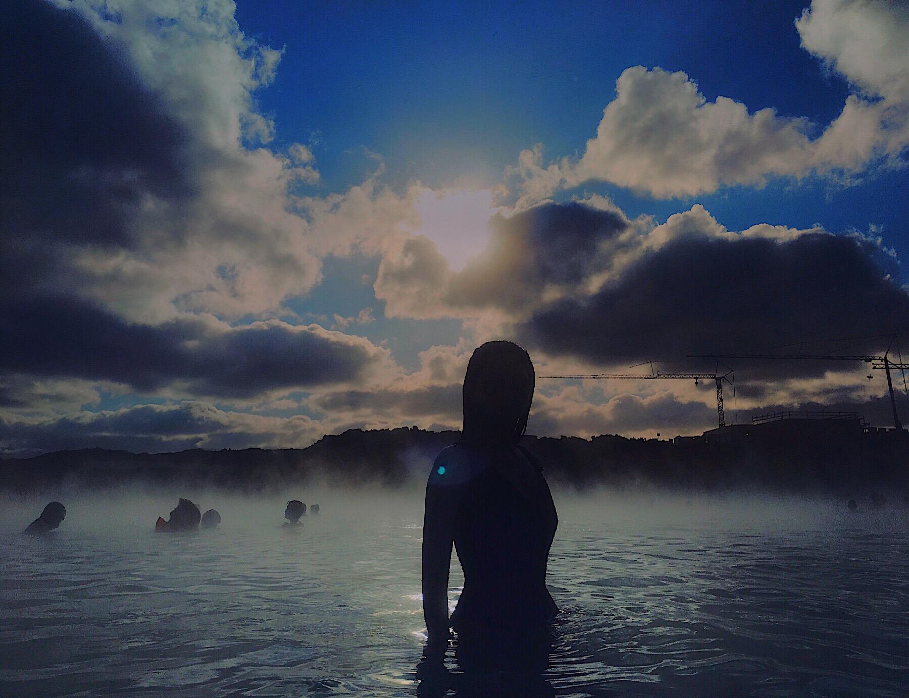 Bianca Valerio Blue Lagoon Iceland