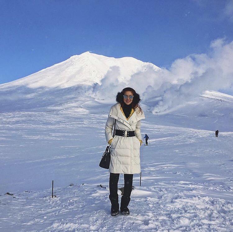 Bianca Valerio At Mount Asahidake Hokkaido Japan