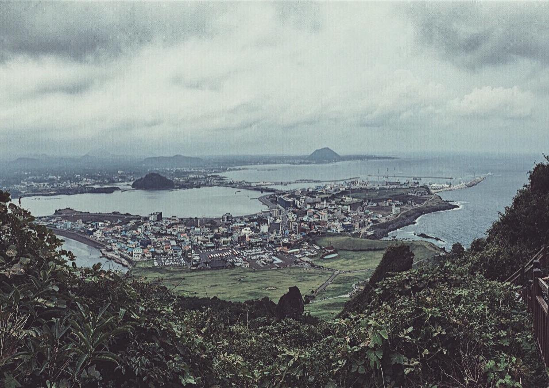 Seongsan Ilchulbong Sunrise Peak Jeju Island