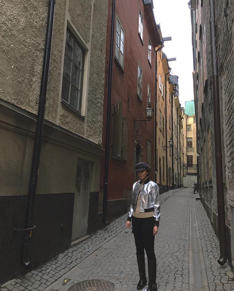 Bianca Valerio Old Town Stockholm Scandinavia