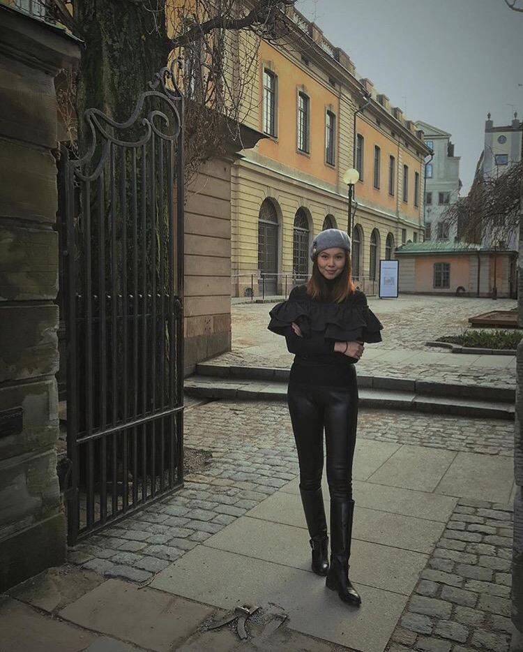Bianca Valerio OOTD Stockholm Sweden Scandinavia