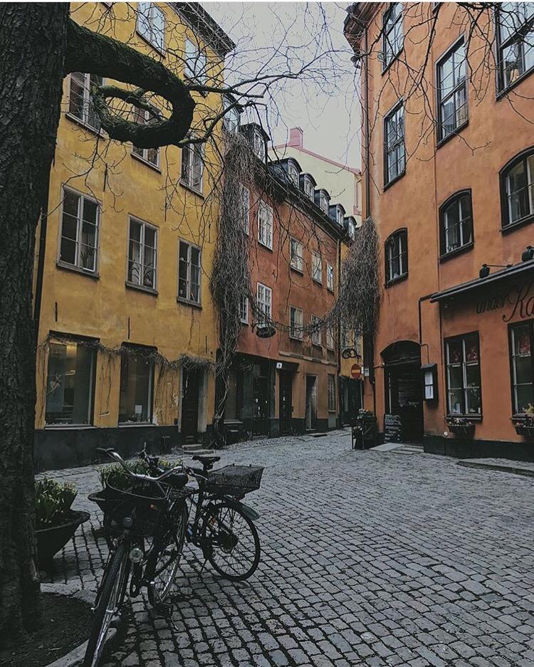 Old Town Stockholm Sweden Scandinavia