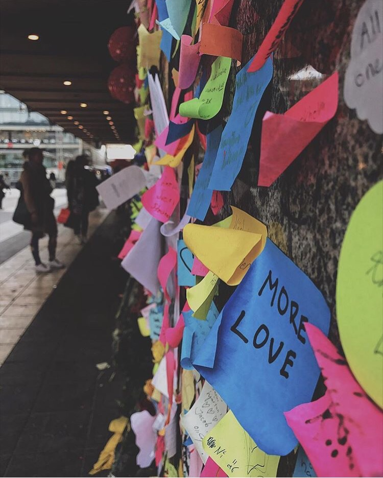 Stockholm Terrorist Attack Memorial Scandinavia