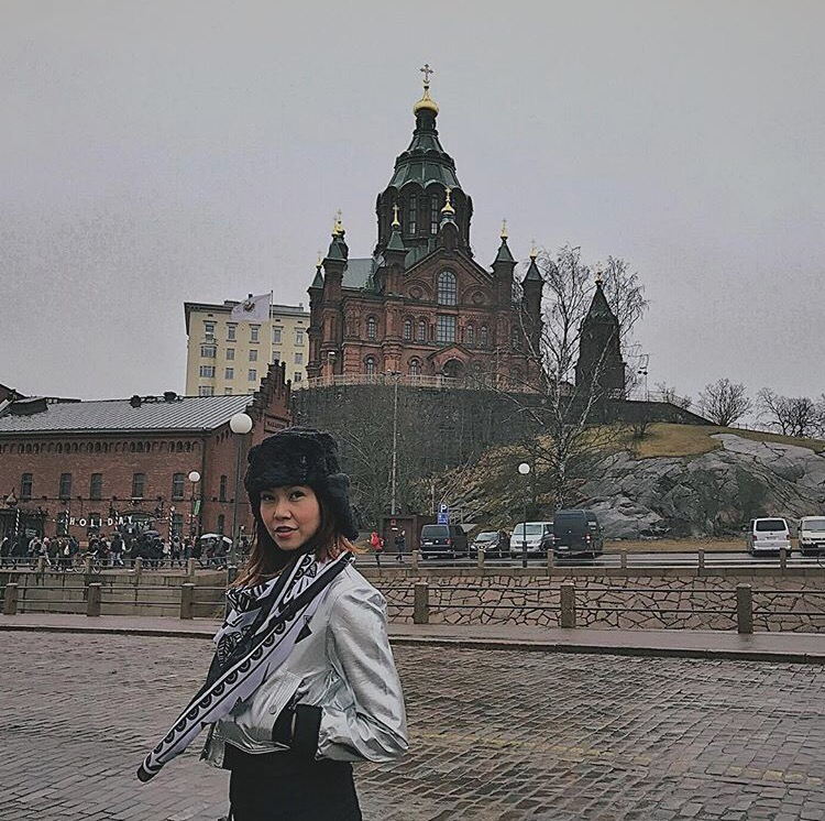 Bianca Valerio Russian Orthodox Helsinki Scandinavia