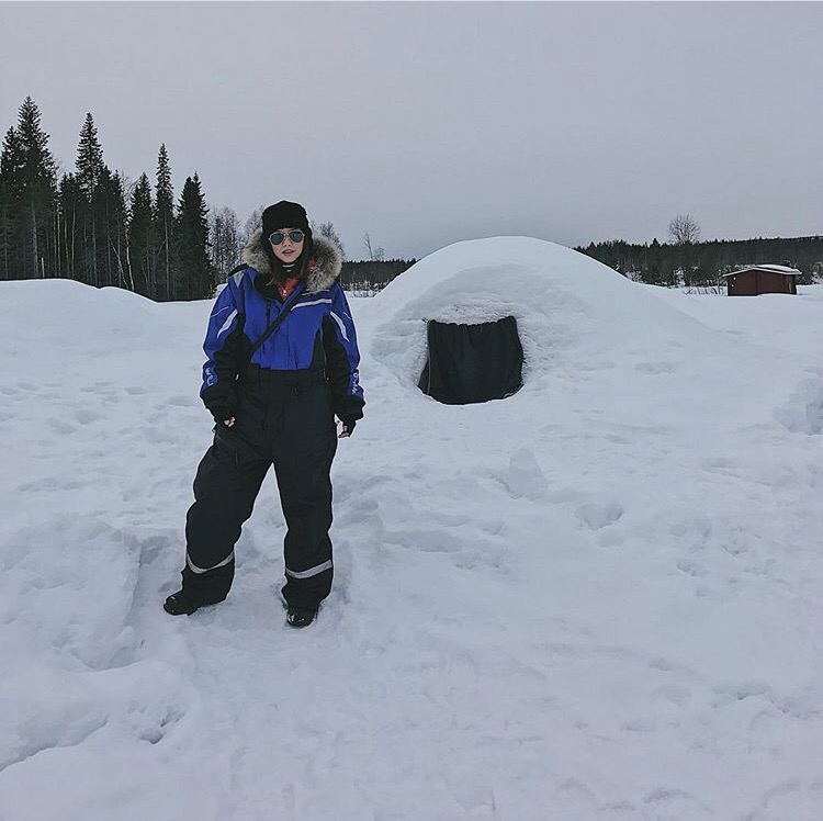 Bianca Valerio Igloo Lapland Scandinavia