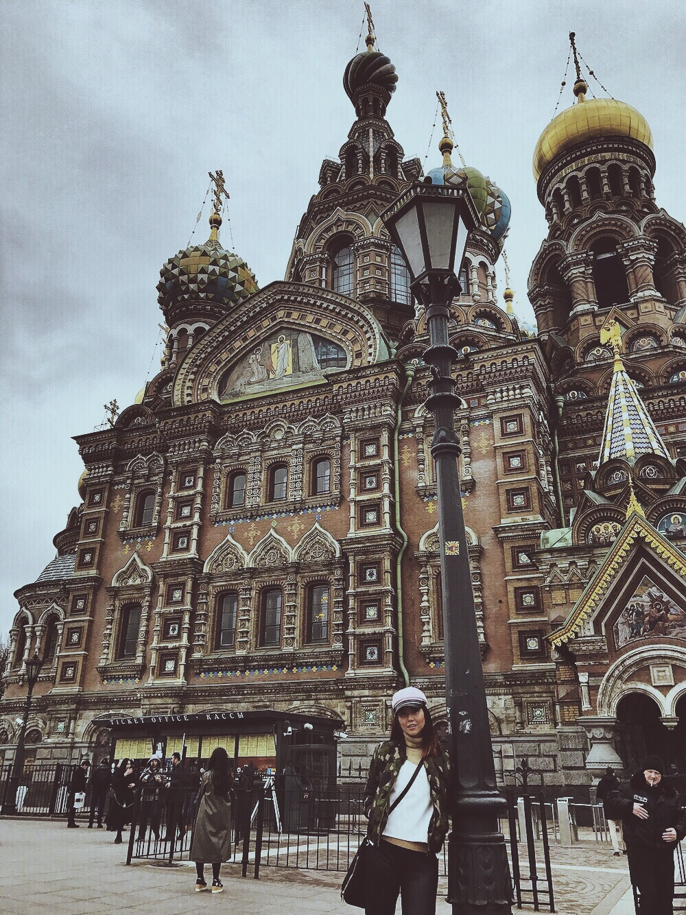 Church of the Spilled Bianca Valerio blood St. Petersburg russia