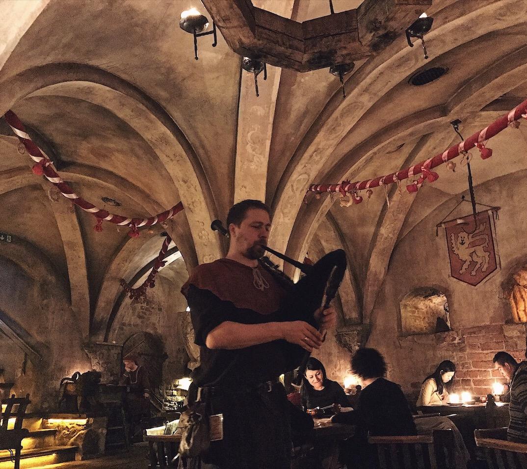 Rozengrals Medieval Band Restaurant Riga Latvia
