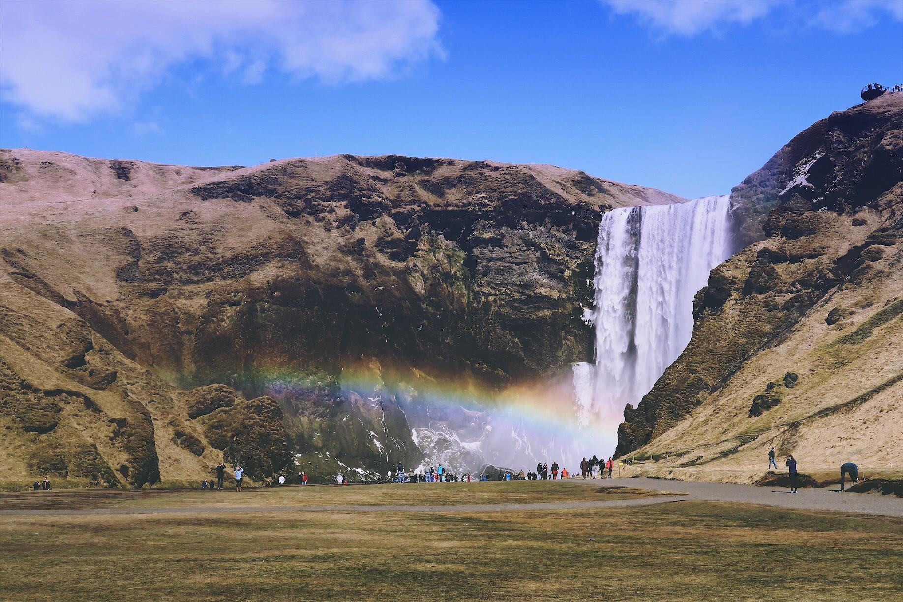 Skogafoss South Coast Iceland