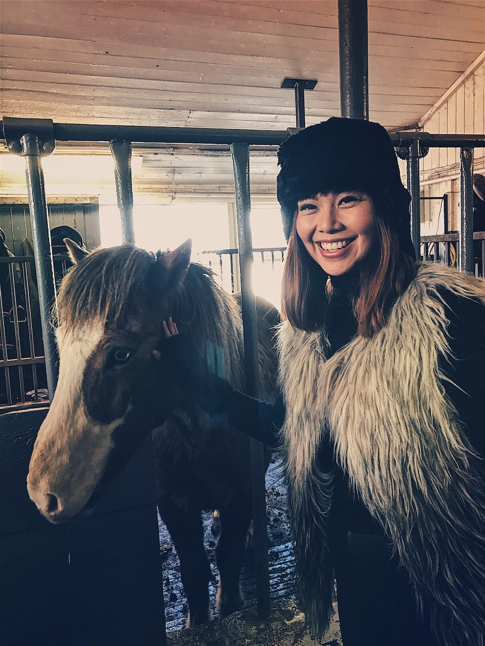 Bianca Valerio Game of Thrones Arya Stark Horse Iceland