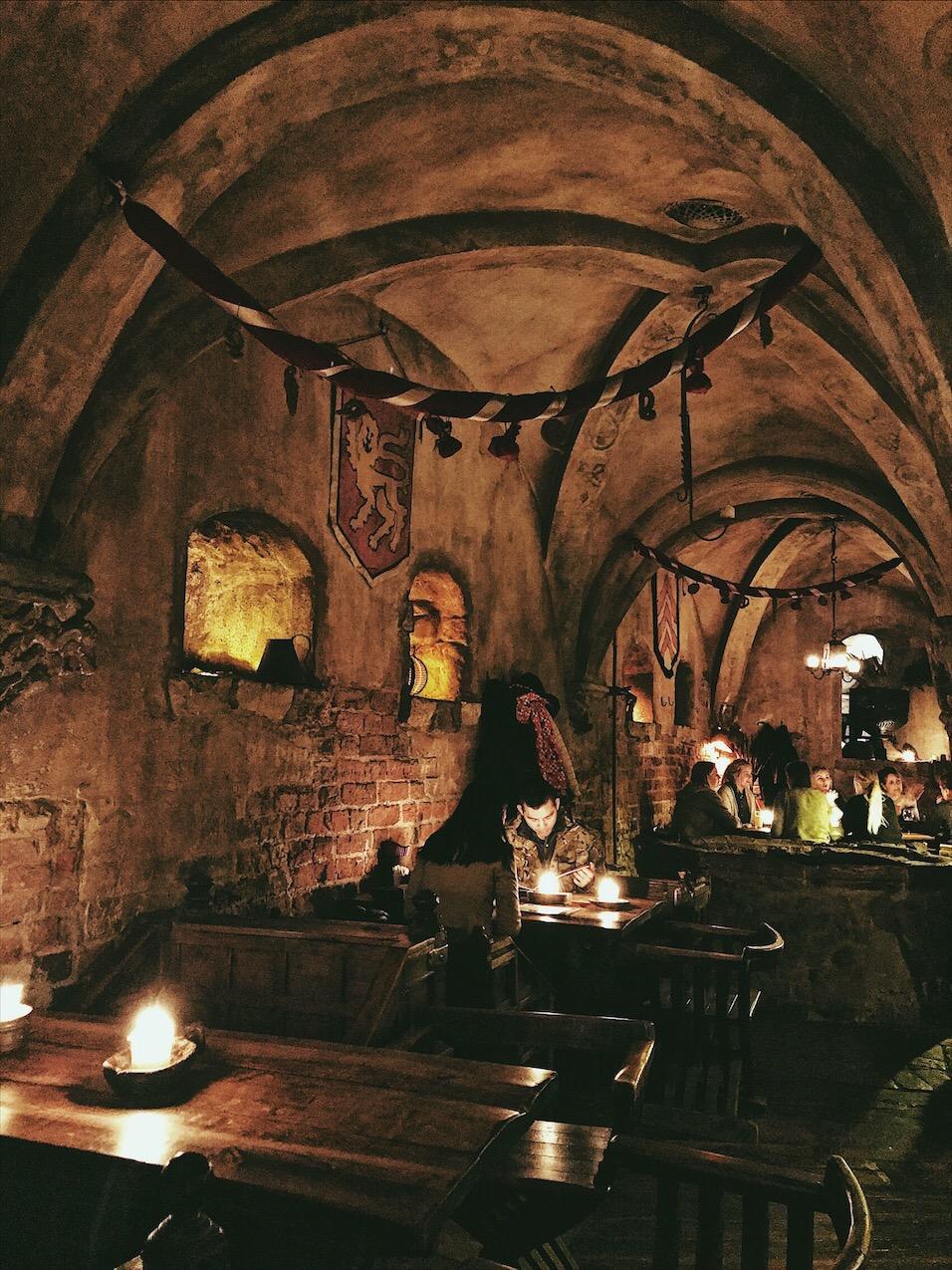 Rozengrals Medieval Restaurant Riga Latvia
