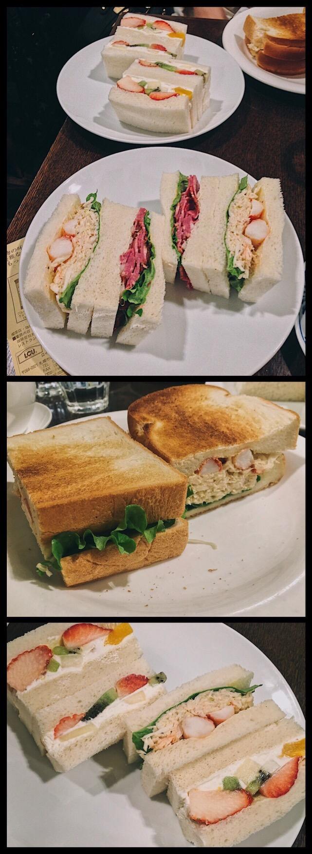 Saera Sandwich Sapporo Food