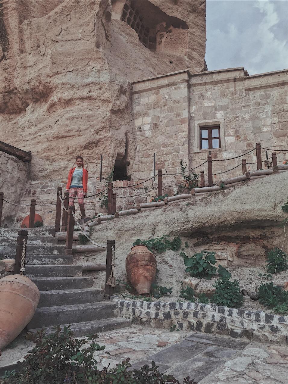 Bianca valerio Cappadocia turkey cave hotel