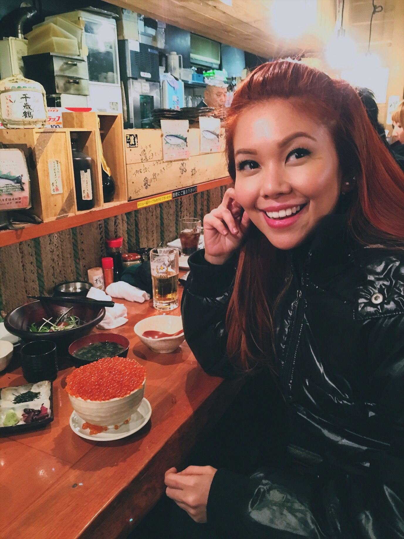 Bianca Valerio Hackikyo Restaurant Sapporo Food Japan