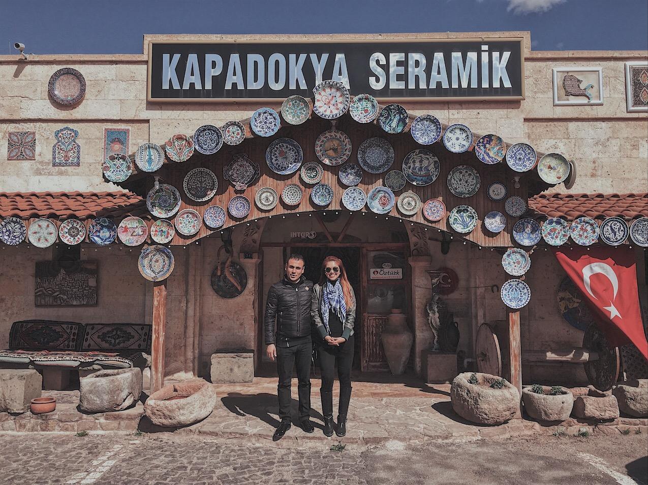 Kapadokya Seramik Cappadocia turkey