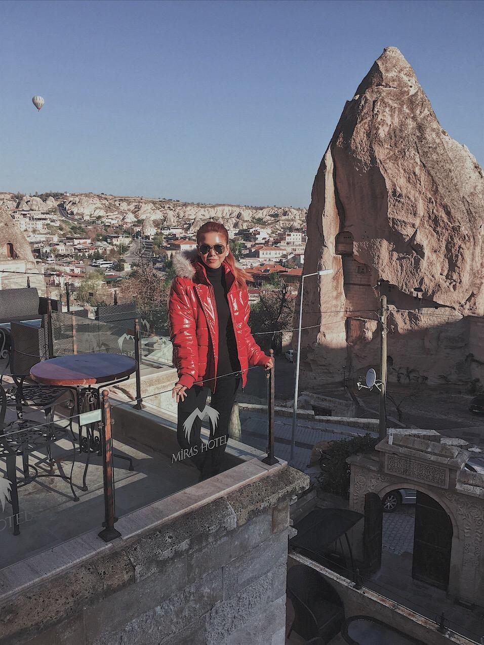 Miras hotel Bianca Valerio Cappadocia turkey