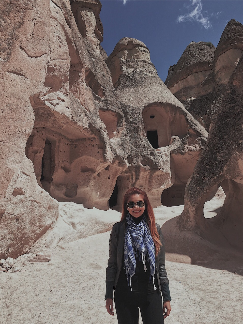 Bianca Valerio monks Valley Cappadocia turkey
