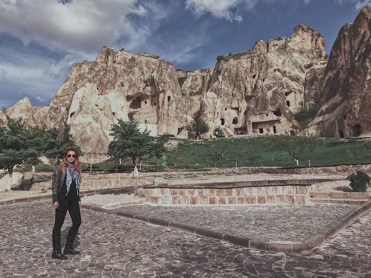 Bianca Valerio Goreme Open Museum Cappadocia turkey
