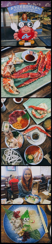 Bianca Valerio Nijo Market Sapporo Food Japan