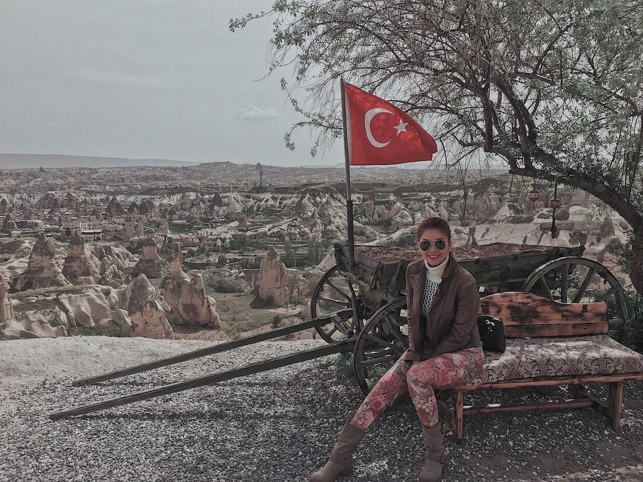 Bianca Valerio Cappadocia turkey