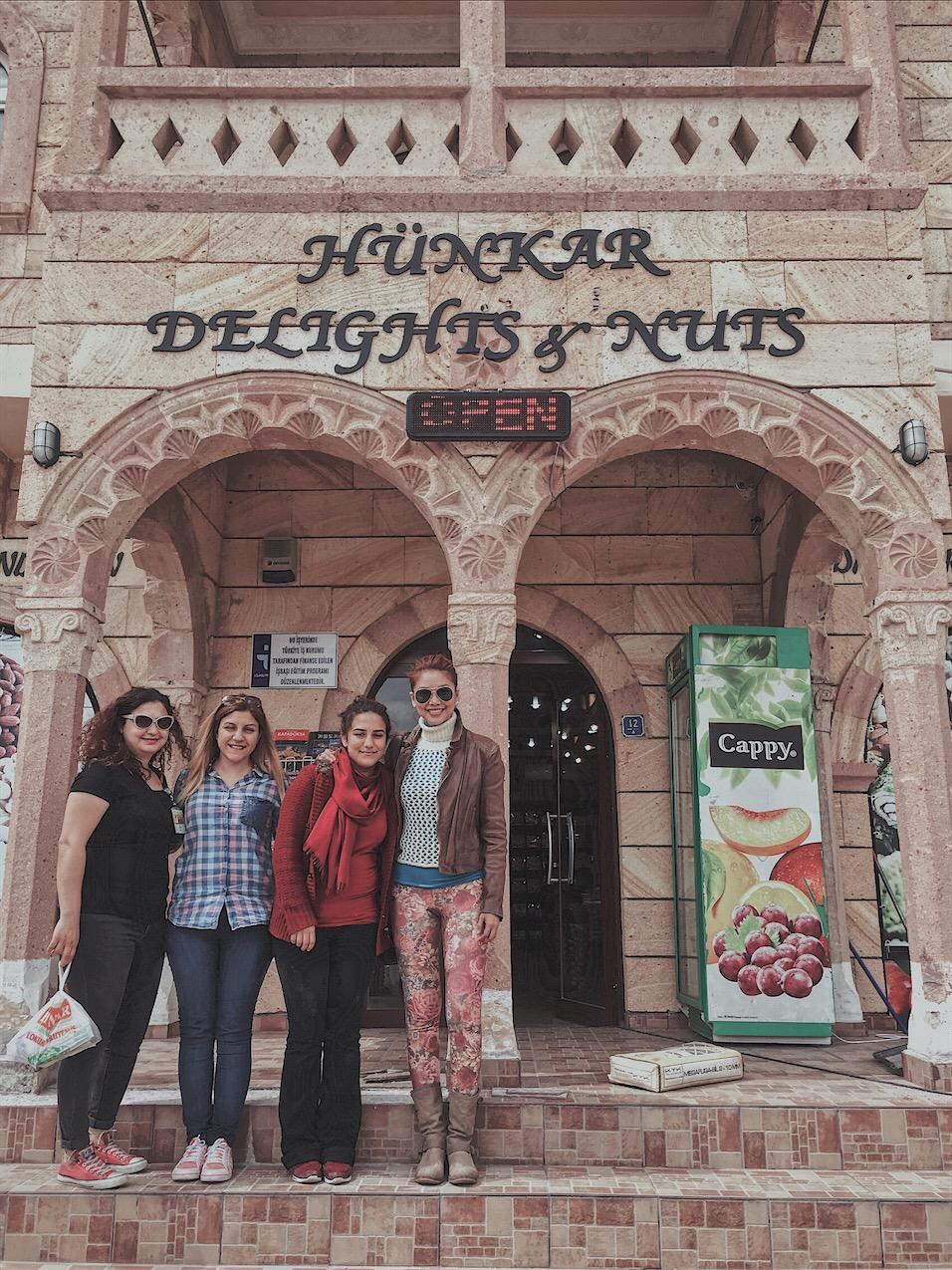 Hunkar delights nuts Cappadocia turkey