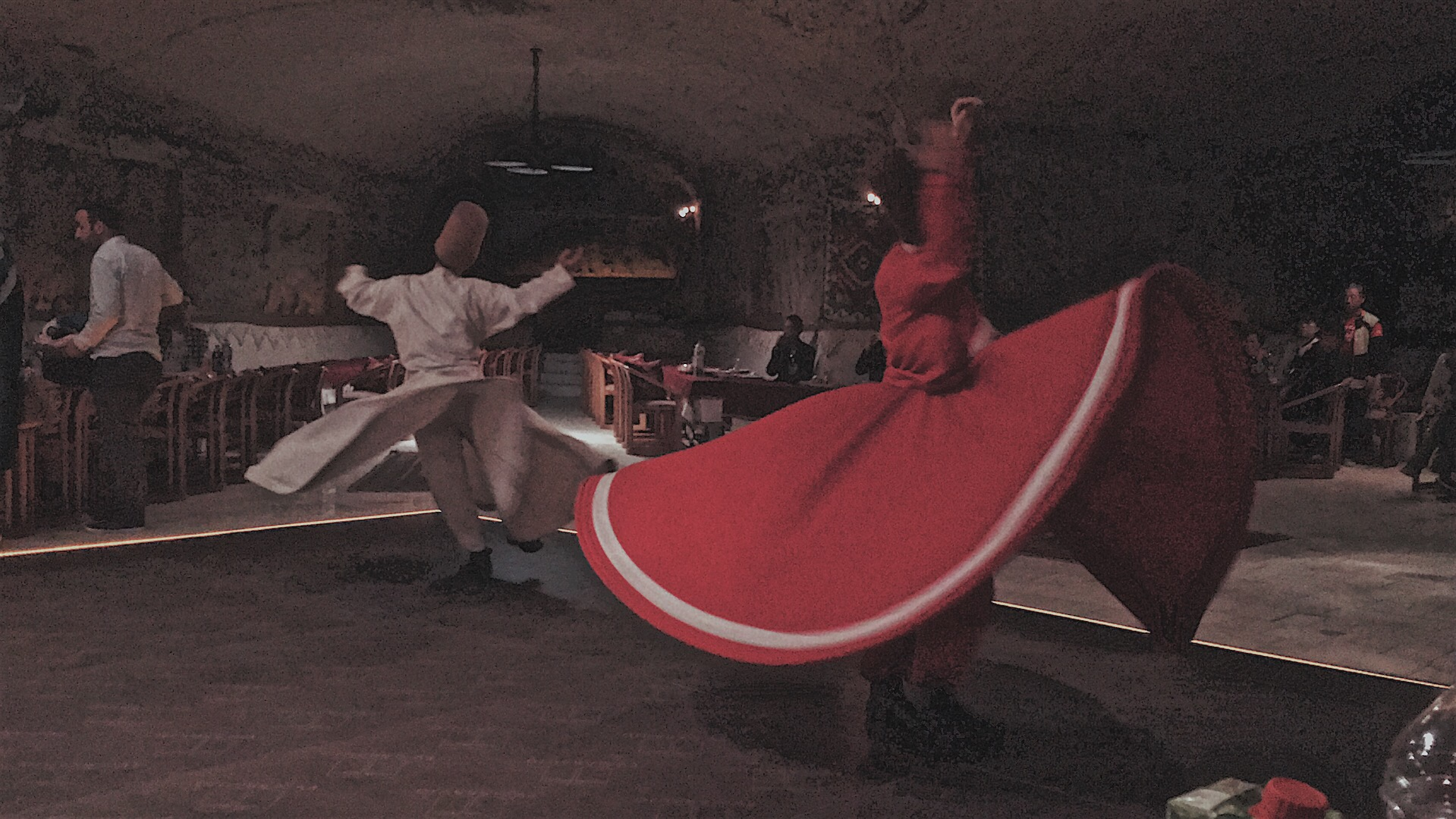 Whirling dervish Cappadocia turkey
