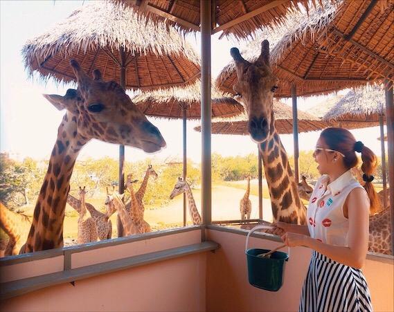 Bianca Valerio Safari World Bangkok Thailand