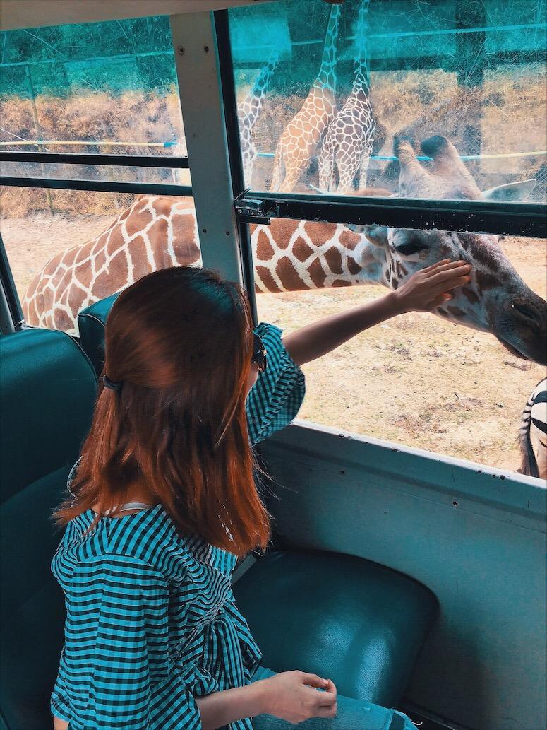 Bianca Valerio kanchanaburi Safari Zoo Bangkok Thailand