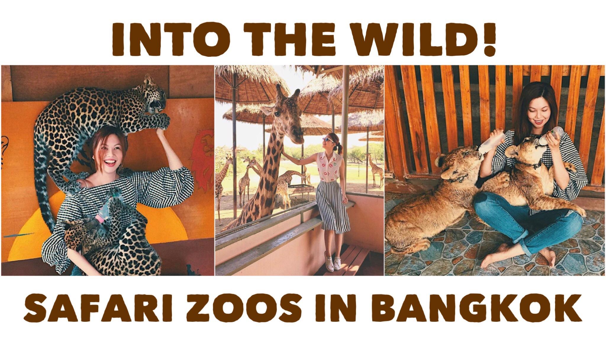 Bianca Valerio kanchanaburi Safari World Zoo Bangkok Thailand