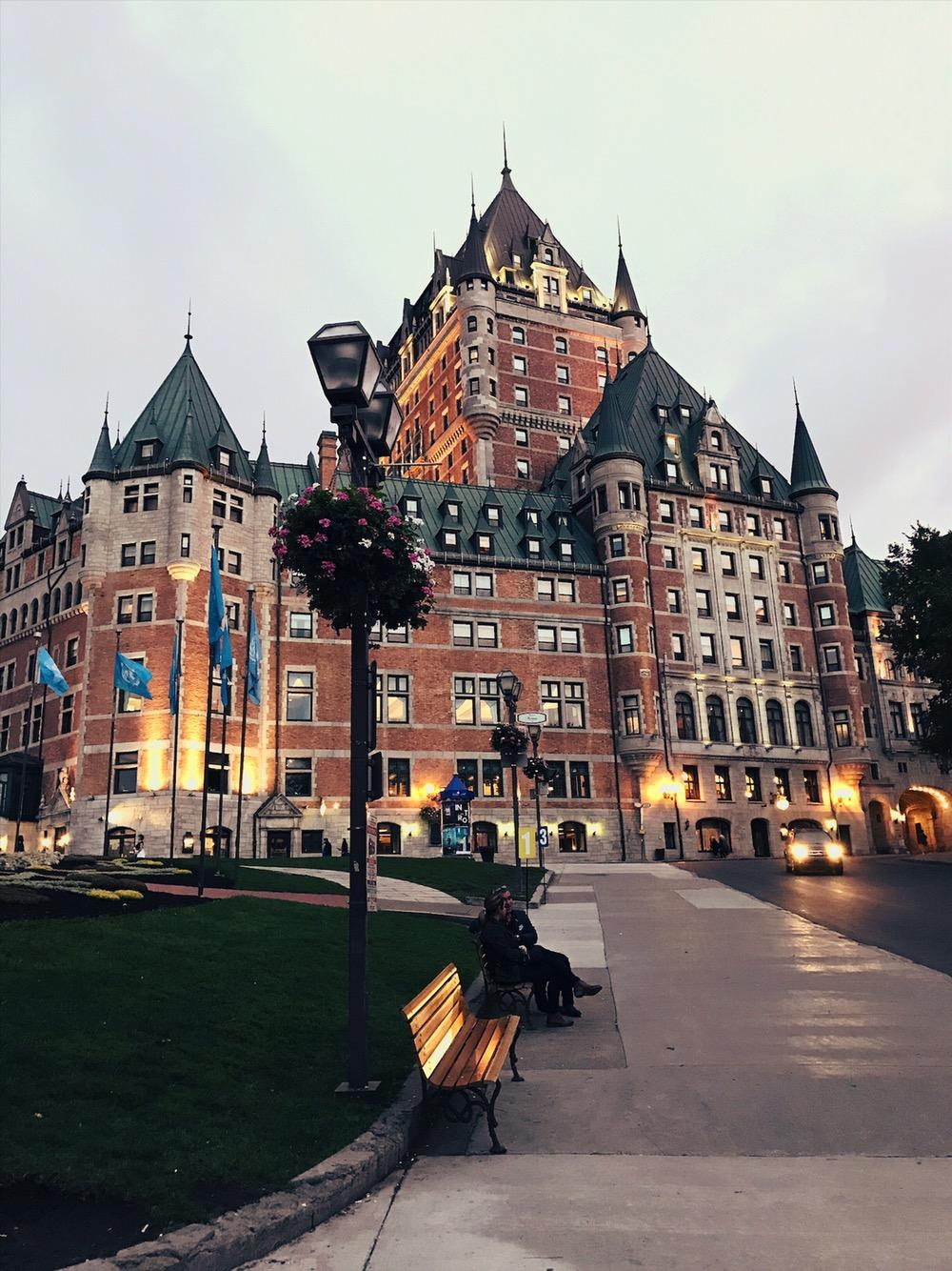 Chateau Frontenac Quebec Canada