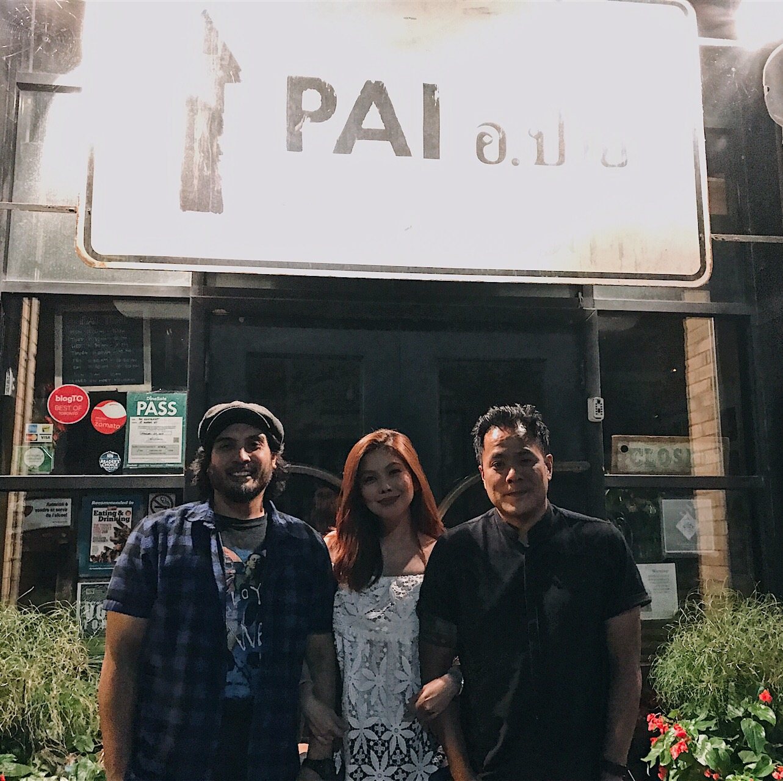 Pai Thai Restaurant Toronto Canada Bianca Valerio Jeff Regular Mike Zerrudo