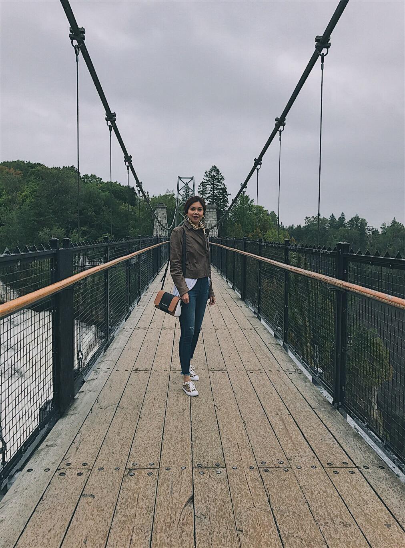 Montmorency Falls Bianca Valerio Quebec Canada