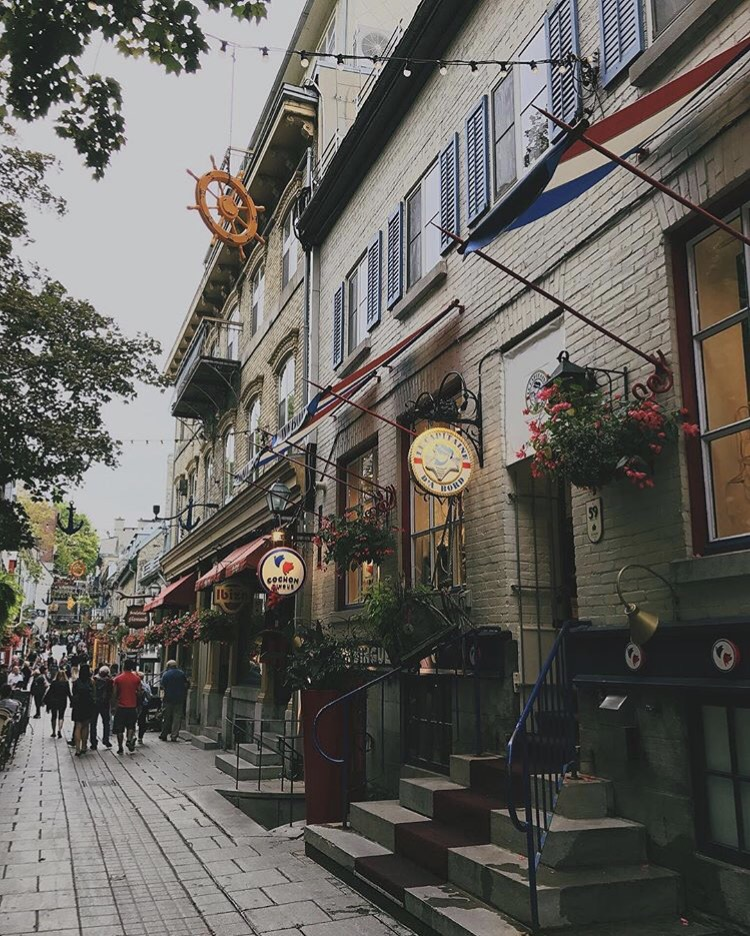 Old Town Quebec Canada
