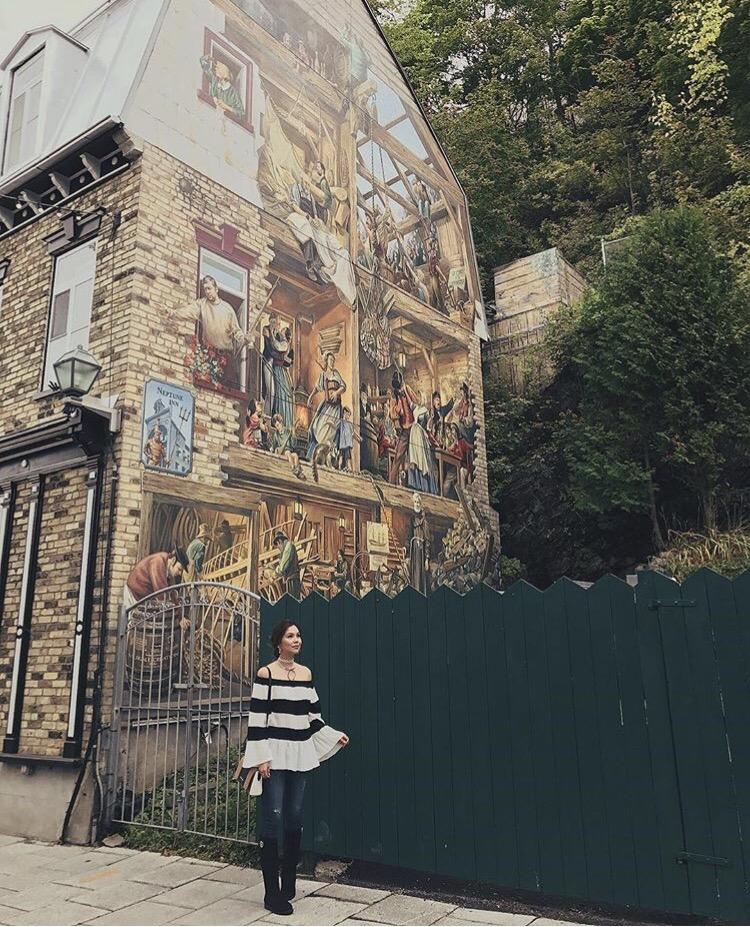 Bianca Valerio Old Town Quebec Canada