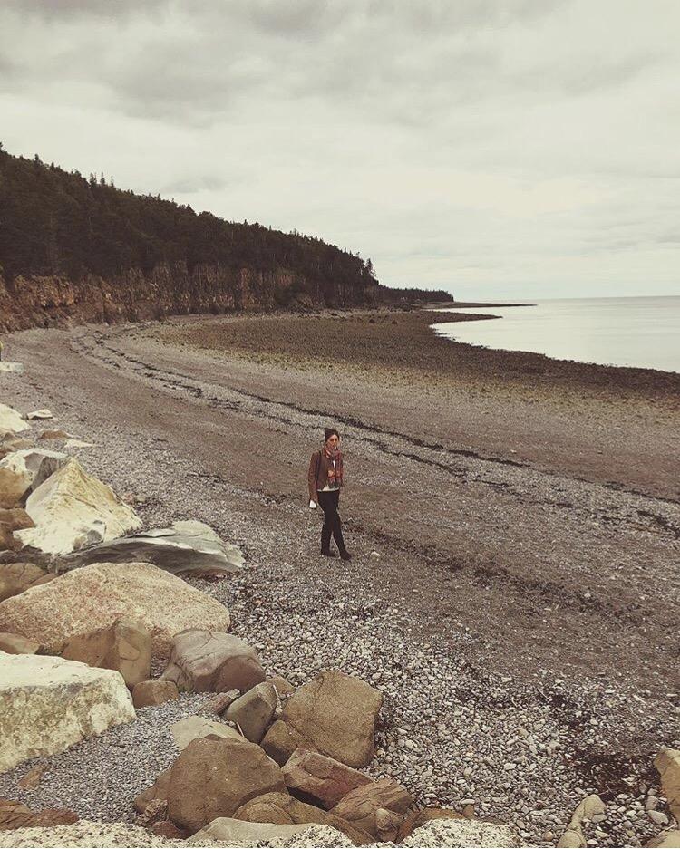 Bianca Valerio Bay Of Fundy Hall's Harbor Nova Scotia Canada