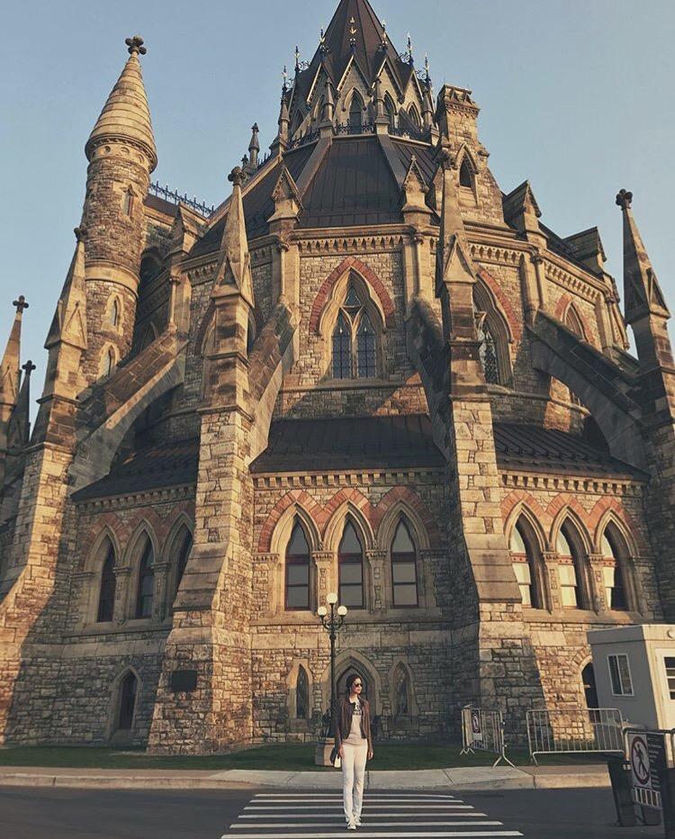 Bianca Valerio Parliament Hill Ottawa Canada