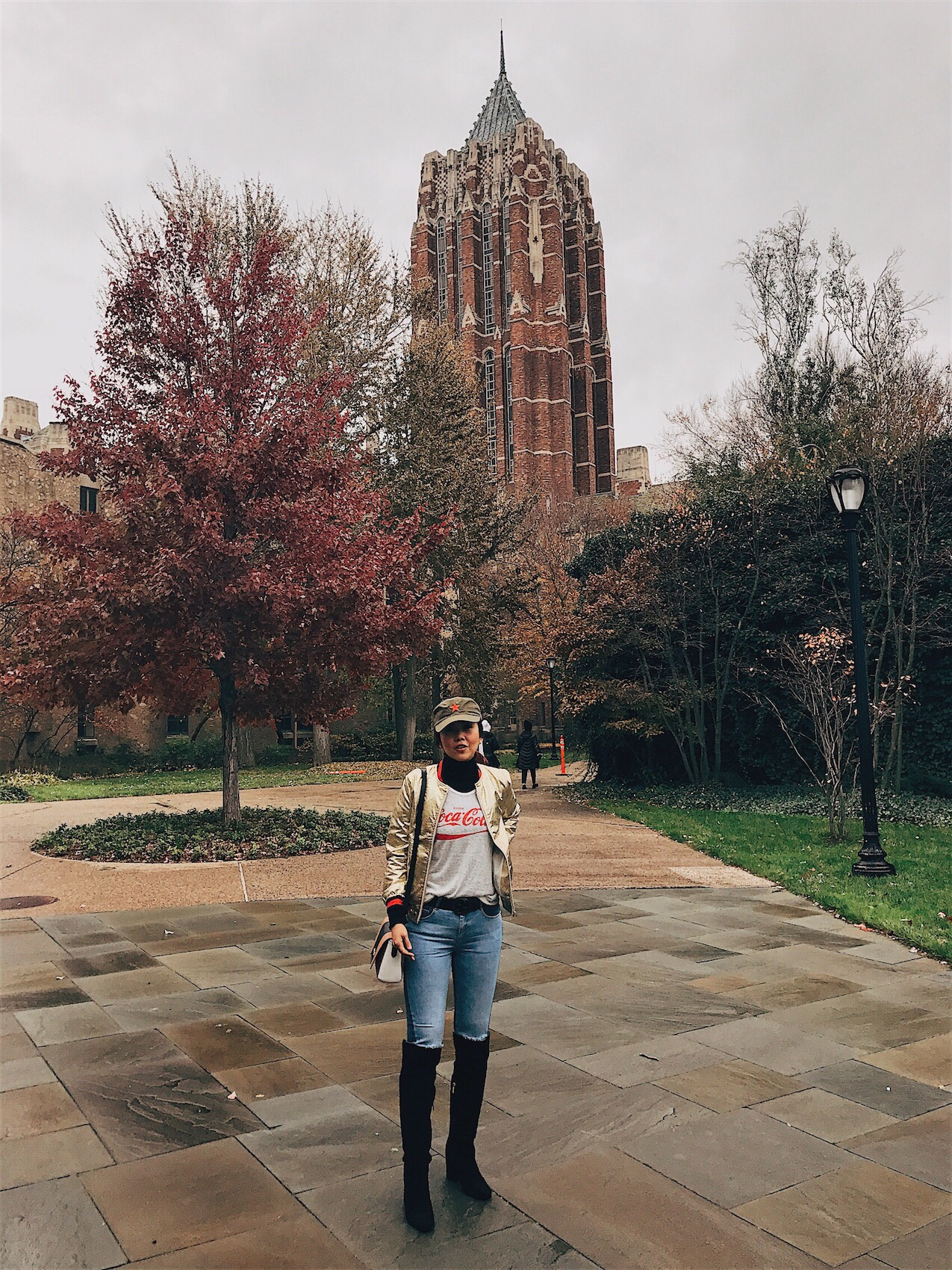 Bianca Valerio Yale University Thanksgiving
