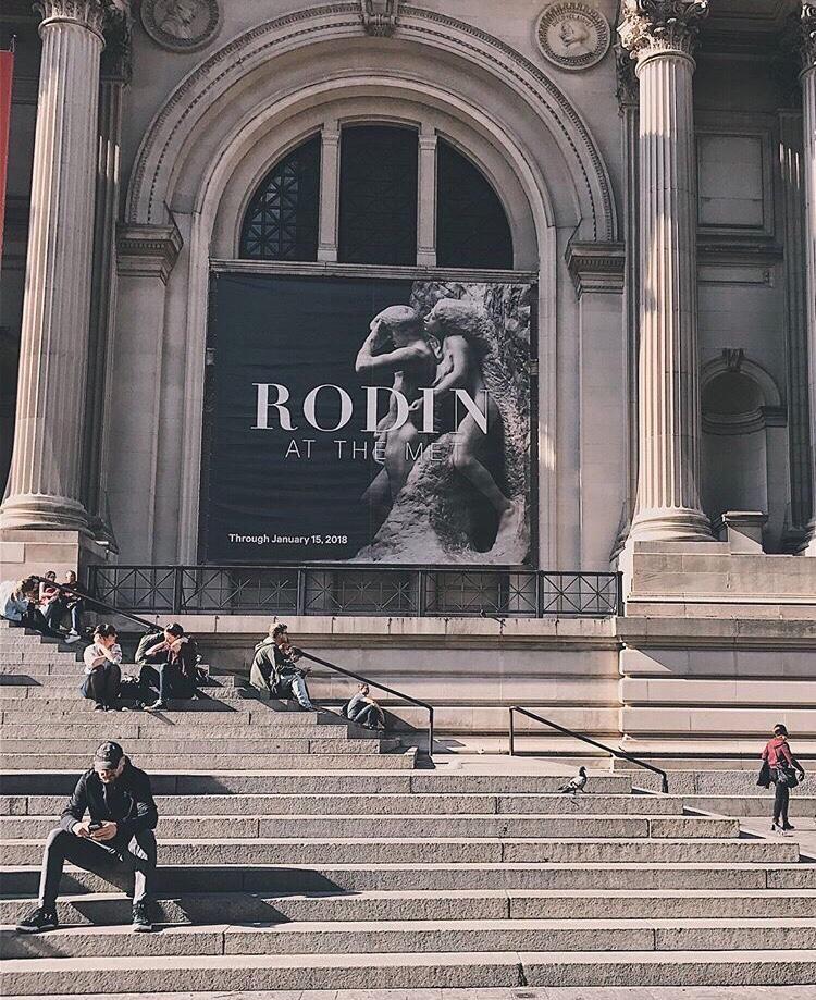 Liam Neeson Met Museum New York