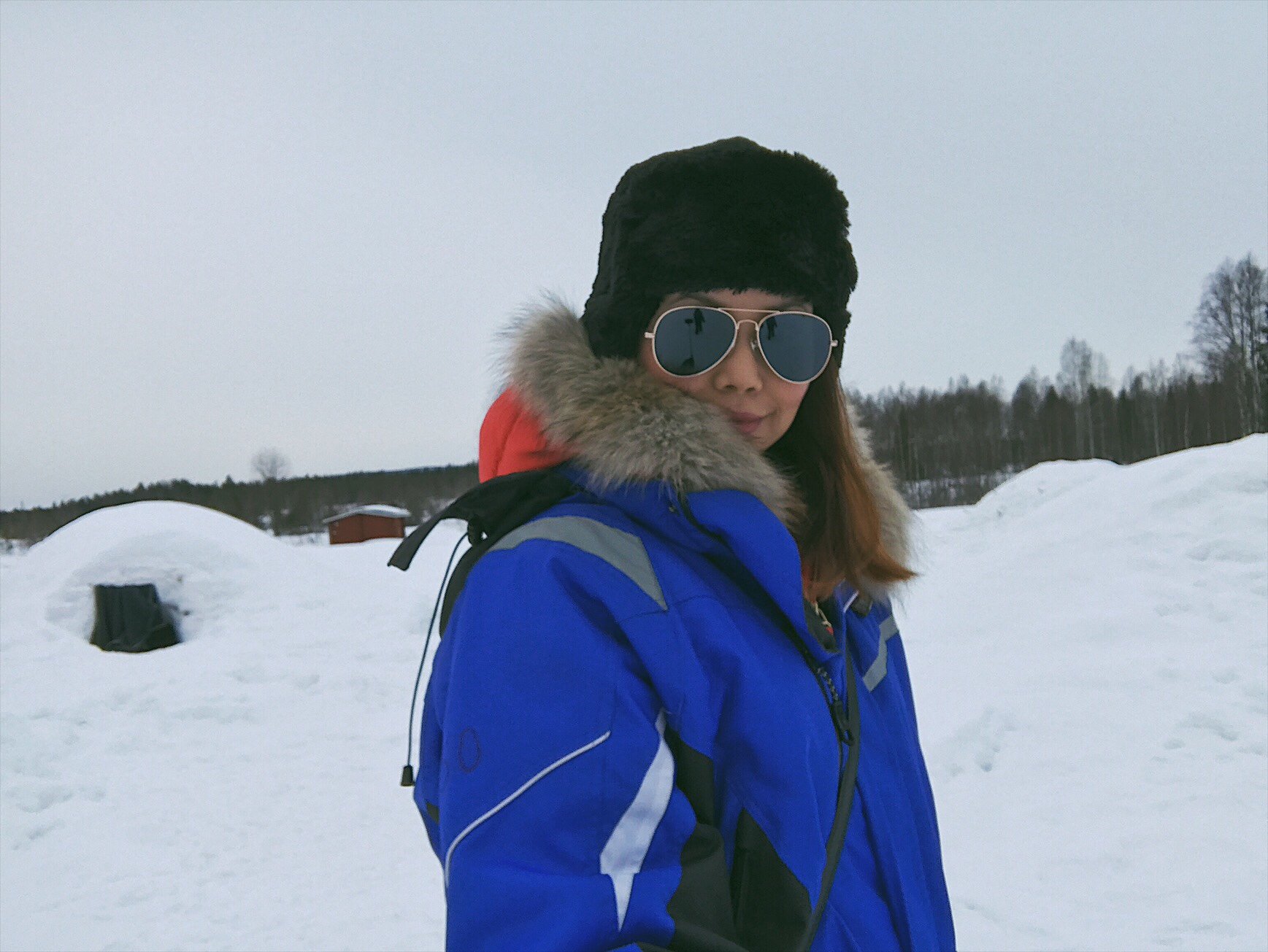 Bianca Valerio Snow Igloo & Northern Lights Lapland