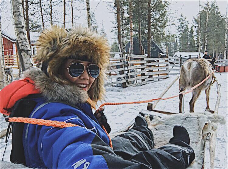 Bianca Valerio Reindeer Farm Lapland Rovaniemi Finland