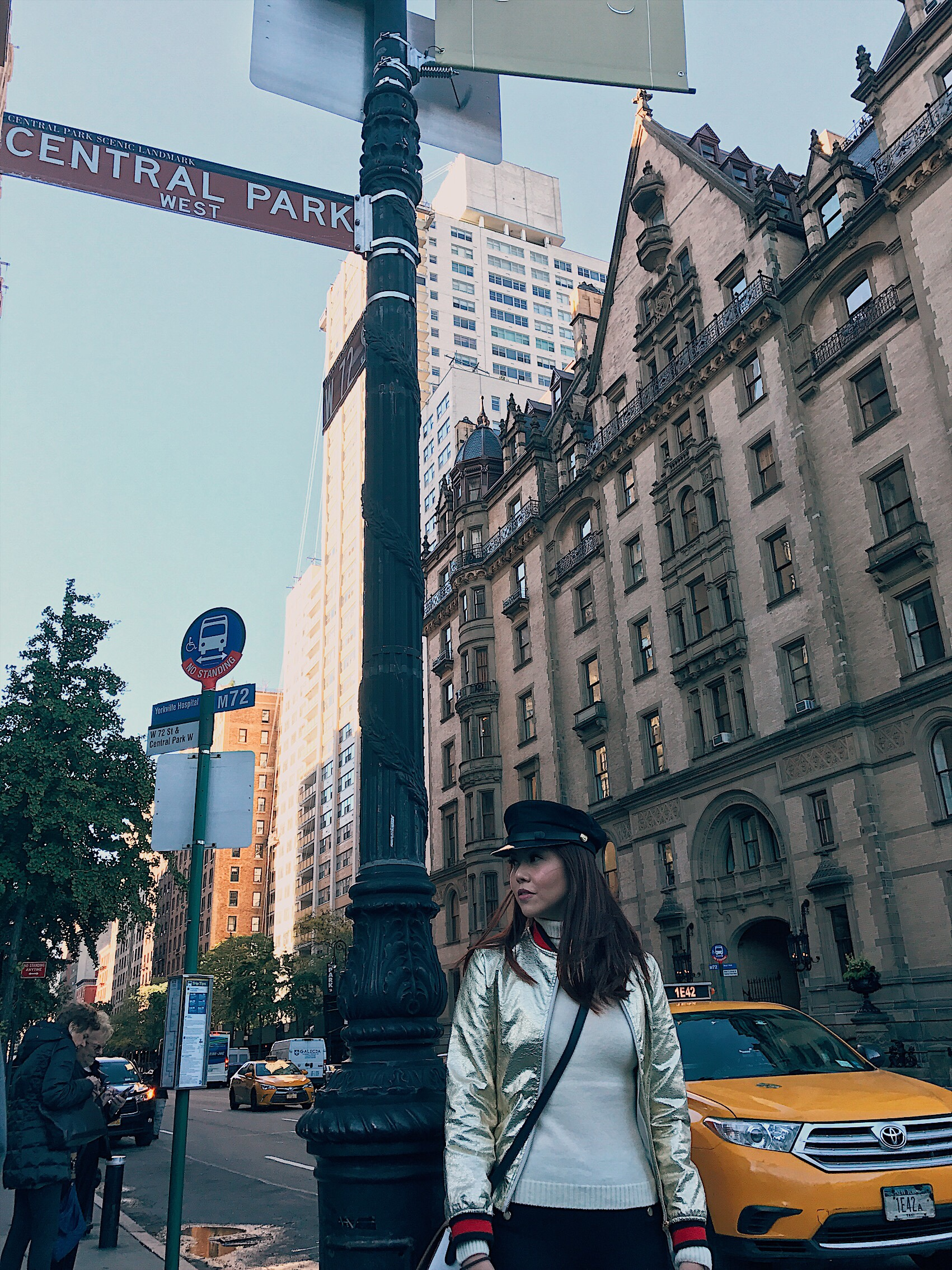 Bianca Valerio New York Central Park