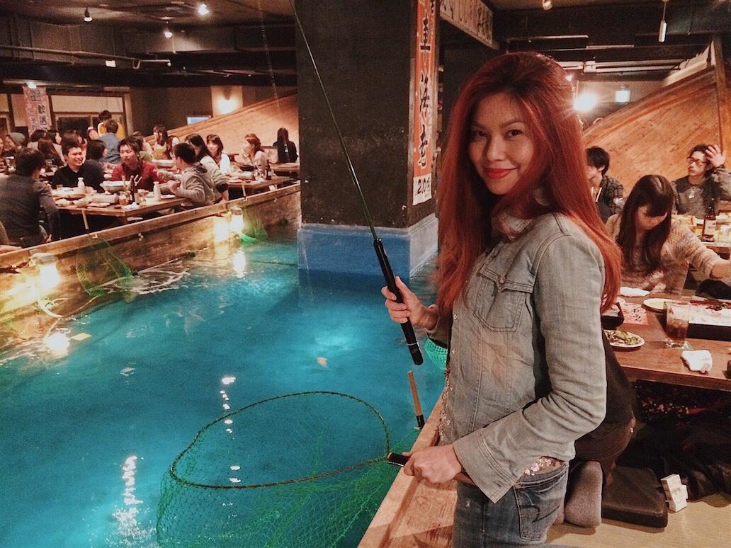 ZAUO Fishing Restaurant Bianca Valerio Osaka Travel Guide