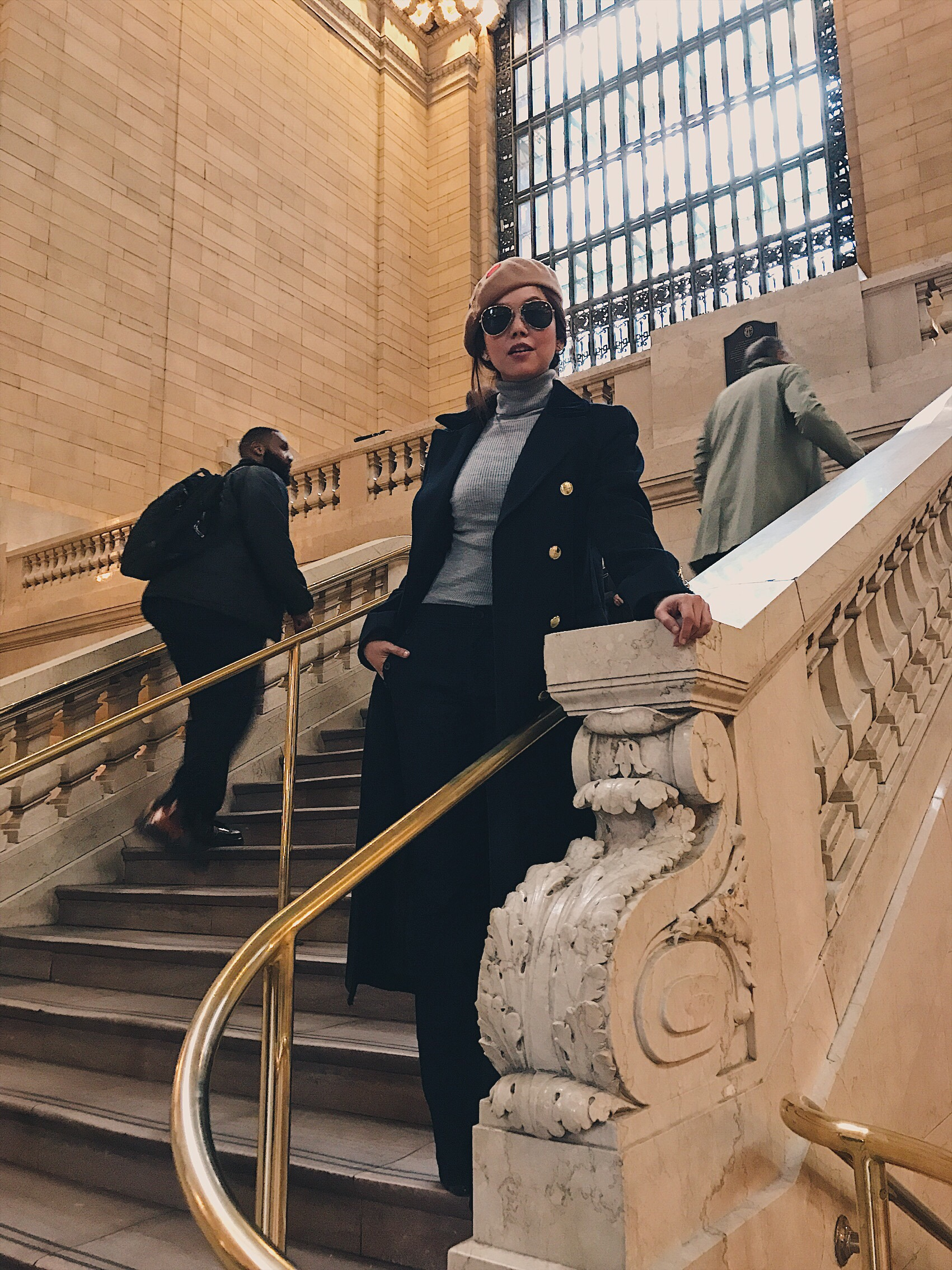 Bianca Valerio New York Grand Central Station